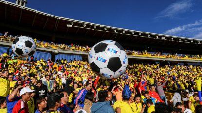 WK-koorts stijgt in Colombia: 35.000 fans dagen op voor onderling partijtje van 30 minuten van 'Los Cafeteros'