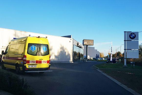 De hulpdiensten moesten donderdag uitrukken voor een 'cannabisincident' bij garage Ludwig Motors