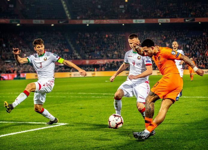 Wit-Rusland is kansloos in de poule van Oranje, maar kan dankzij de Nations League straks mogelijk toch nog naar het EK voetbal.