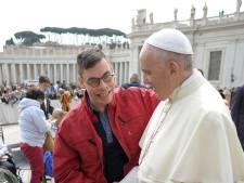 Joost uit Deurne zag zijn grootste wens in vervulling gaan: een ontmoeting met de paus