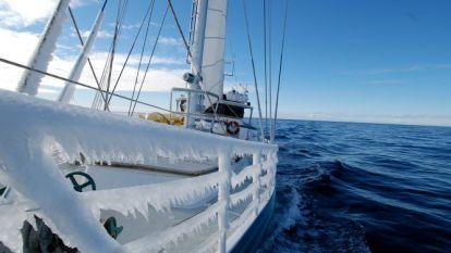 Belgische Antarctica-expeditie 'Belgica 120' in moeilijkheden bij Kaap Hoorn