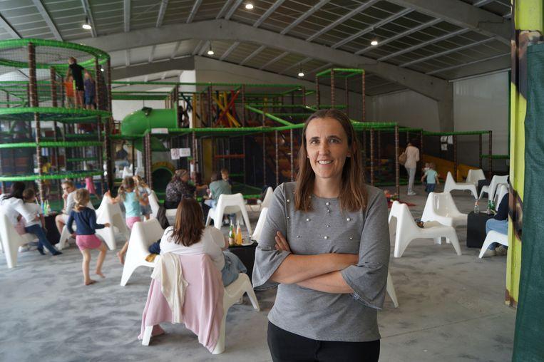 Saskia Buyse opent Burapark in Gits.