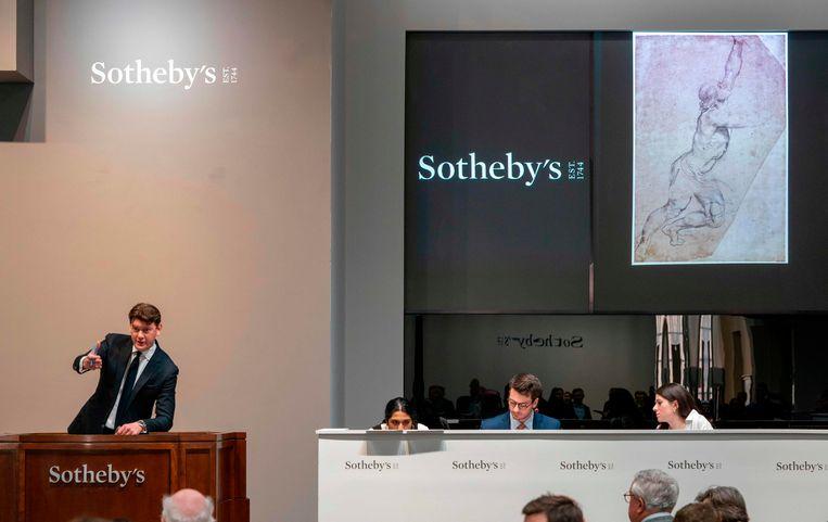 """De vraag of de Rubens voor Nederland behouden had moeten blijven'""""werd niet tijdig en niet zorgvuldig genoeg beantwoord door de overheid'. Beeld AFP"""