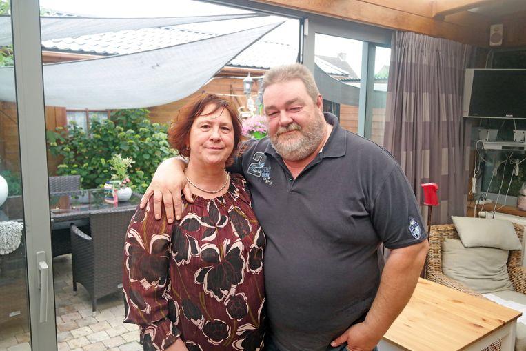 Mario Paelinck (51) en zijn vrouw Sabine.