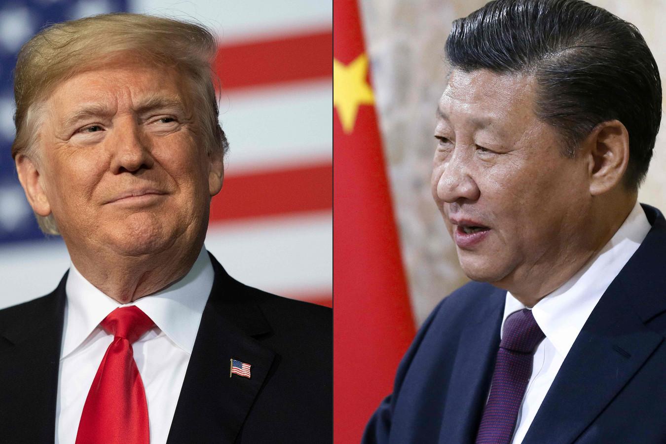 Donald Trump et son homologue chinois Xi Jinping