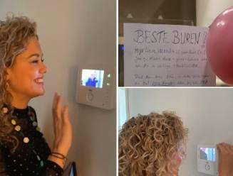 Originele verrassing van zieke Nederlander voor jarige vriendin in coronaquarantaine gaat viraal