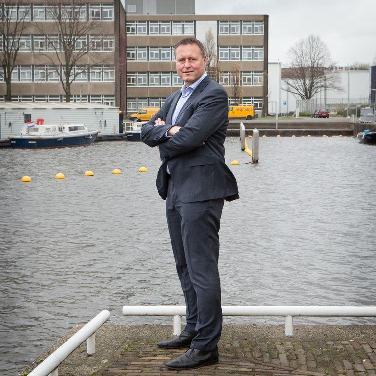 Macanti-directeur Rik Bruer Beeld .