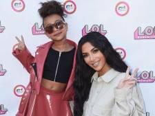 Kritiek op Kim Kardashian om 'te volwassen' uiterlijk dochter (5)