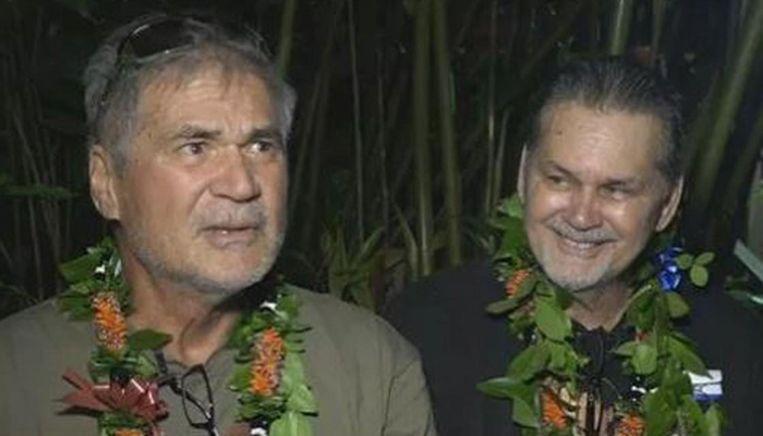 Alan Robinson en Walter Macfarlane beleefden een onvergetelijke kerst.