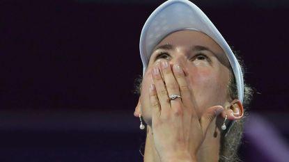 """Elise Mertens speelt in Doha veruit haar grootste finale tot nu toe: """"Ik ben opgewonden, voor mij is alles winst"""""""