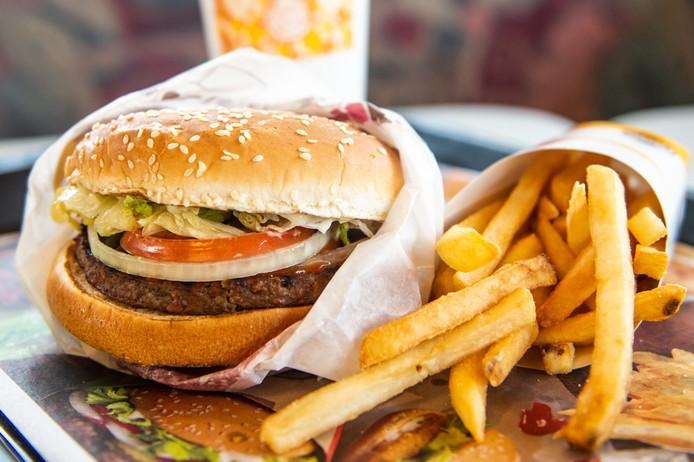 La version veggie du célèbre Whopper de Burger King.
