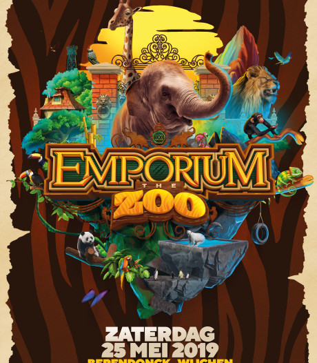 Emporium als eenmalige, dansende dierentuin rond Berendonckplas
