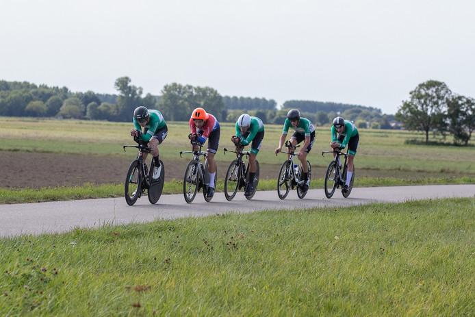 De mannen van De IJsselstreek moesten genoegen nemen met een tweede plaats in de clubcompetitie.