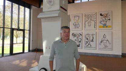 Kamagurka exposeert voor het eerst in een Belgisch museum: Mudel Deinze wordt tijdelijk Kamagurkistan