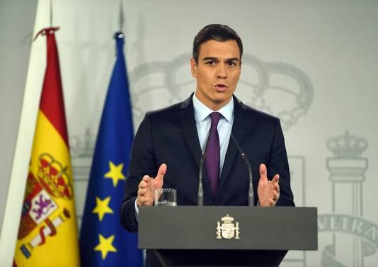 De Spaanse premier Pedro Sánchez is een van de Europese leiders die de Venezolaanse parlementsvoorzitter Juan Guaidó Márquez heeft erkend als interim-president.
