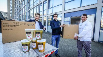 Brugse ondernemers maken liters soep voor personeel AZ Sint-Lucas