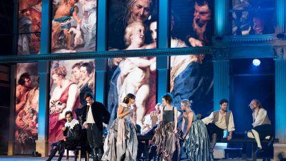 Enorme ledmuur siert musical Rubens