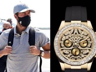 Eden Hazard gespot met Rolex van meer dan 100.000 euro