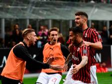 AC Milan houdt Champions League-hoop levend met zege op degradant