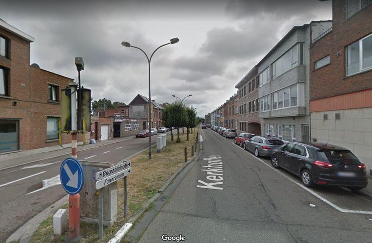 De Kerkhoflei in Mechelen.