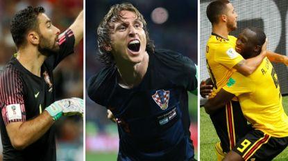 Van Patrício tot Lukaku: ons WK-elftal van de tweede speeldag