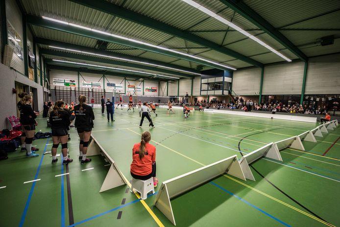 Sporthal De Schalm, de thuisbasis van Set-Up'65.