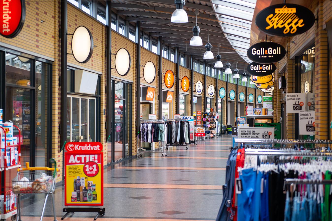 Het winkelcentrum Groot Driene heeft hulp van de gemeente gevraagd, deels om (dreigende) leegstand een halt toe te roepen.