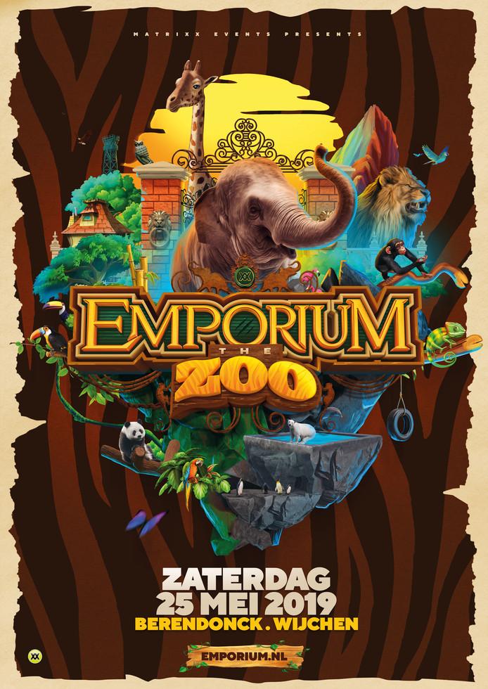 De flyer voor Emporium 2019, de vijftiende editie.
