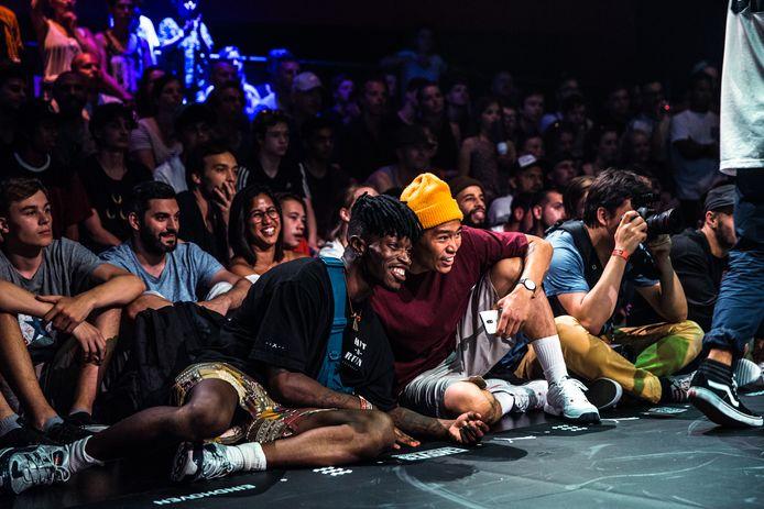 Publiek tijdens de Urban Dansdagen van vorig jaar in het Parktheater.