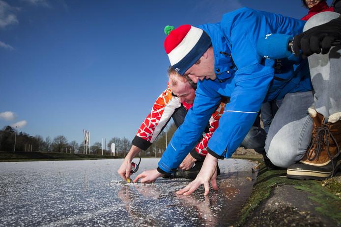Vorige winter ging de primeur naar schaats- en skeelerclub IJSCH uit Haaksbergen.