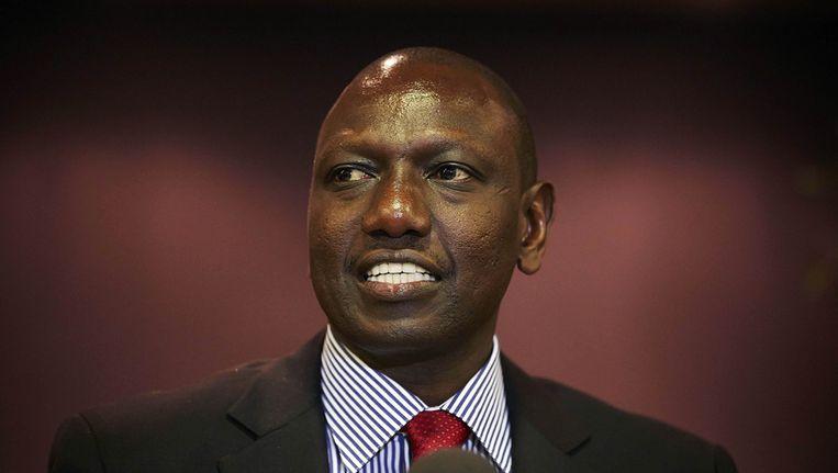Vicepresident van Kenia William Ruto Beeld reuters