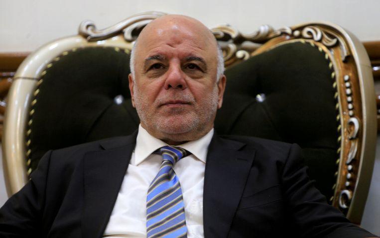 De Iraakse premier Abadi wil snel honderden doodstraffen gaan uitvoeren.  Beeld REUTERS