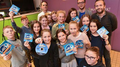 Basisschool maakt cd om Team Neushoorn te steunen