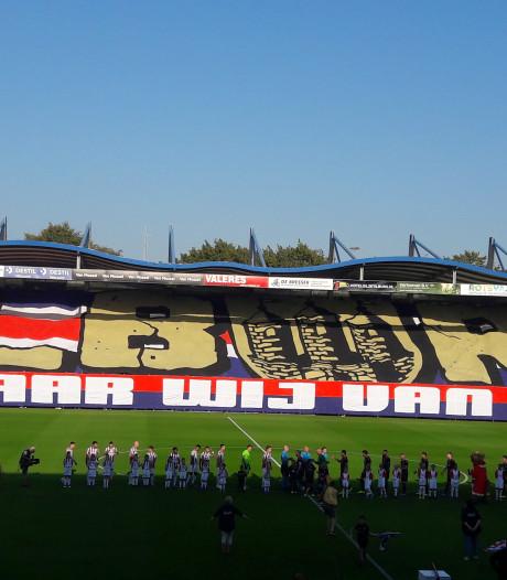 Liefdesverklaring fans Willem II aan stad Tilburg