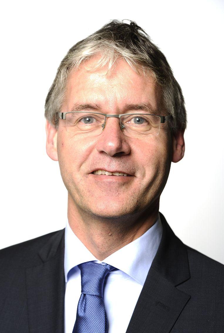 ChristenUnie-leider Arie Slob Beeld null