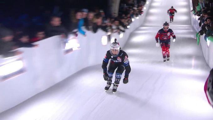 Ijzingwekkend snel: WK Crashed Ice in Marseille