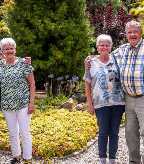 Eeneiige tweeling trouwde 50 jaar geleden op dezelfde dag: 'We zijn vrienden voor het leven'