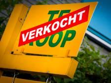 Woningaanbod daalt niet verder,  prijzengekte blijft nog wel in Maas en Waal