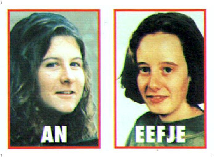 An Marchal (17) en Eefje Lambrecks (19) werden in augustus 1995 ontvoerd in Oostende