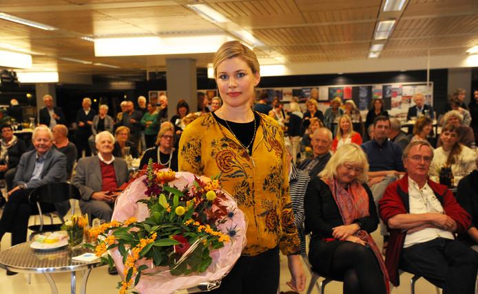 Franca Treur is de winnaar van de Zeeuwse Boekenprijs 2018.