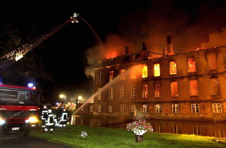 De brand vernielde 14 jaar geleden een vleugel.