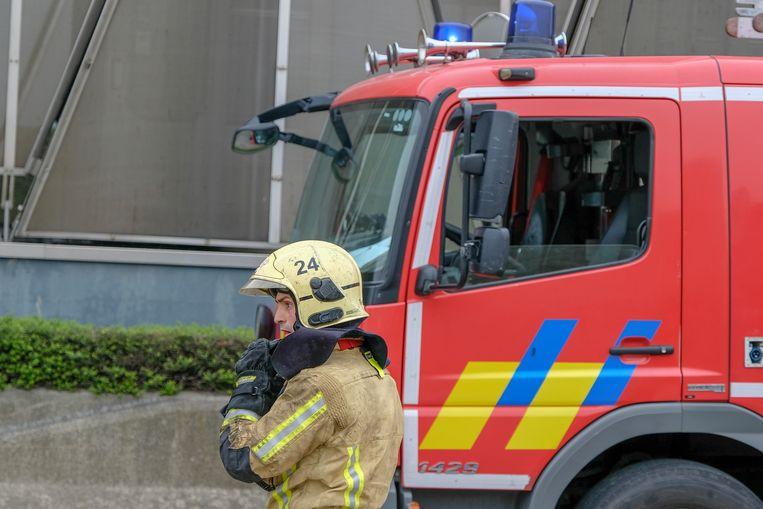 De brandweer had het vuur snel onder controle (Archiefbeeld).