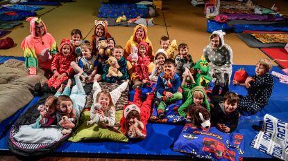 Slaapfeest laat kleuters kennismaken met eerste leerjaar