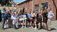 Klas 2B van Heilig Hart Instituut wint dagje Bobbejaanland