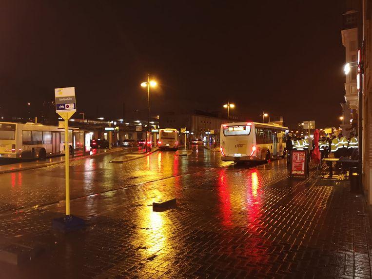 De politie hield de controleactie onder meer in de Stationstraat in Mechelen.