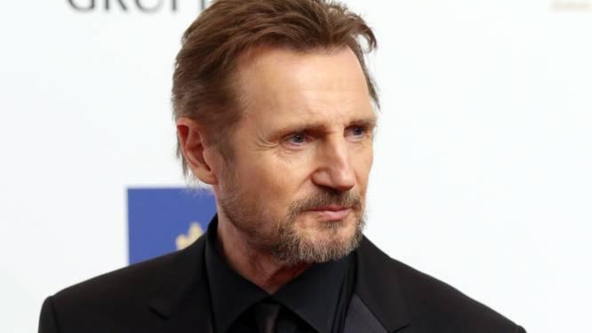 """Liam Neeson (68) krijgt stilaan genoeg van actiefilms: """"Al blijft het wel zalig om die jonge kerels in elkaar te slaan"""""""