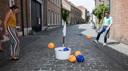 Ontdek binnenstad al voetballend