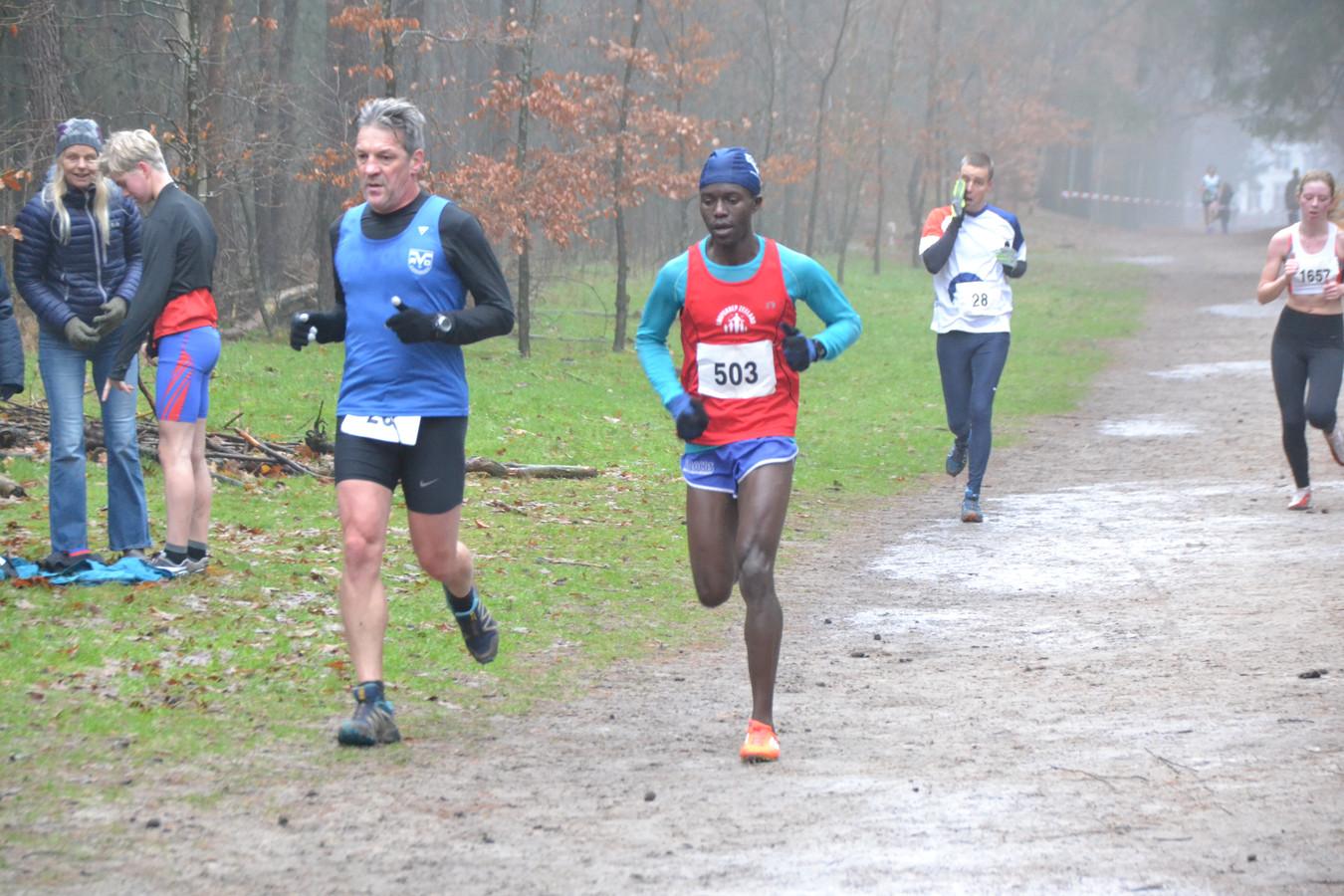Aggrey Agaba wint de Spadocross