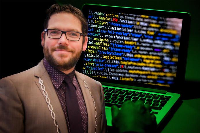 Burgemeester Sebastiaan van 't Erve weet nog niet wat hackers probeerden te vinden bij de gemeente Lochem.