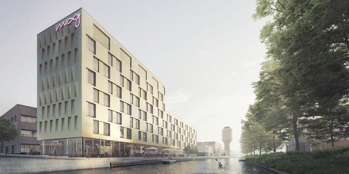Rotsoord krijgt aan de Helling in Utrecht een designhotel. Moxy kent alleen in Amsterdam een voorganger in Nederland